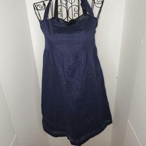 A Dong Silk tie back dress
